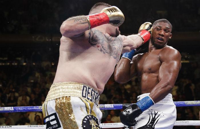 Boxkampf Haye