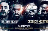 GLORY 76 Full fight card