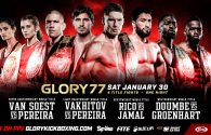 GLORY 77 Fight Card