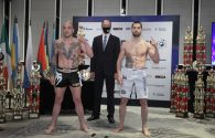 SENSHI 8 weigh-in results: Penchev and Stoykov both on point