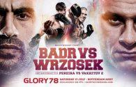GLORY 78 fight card