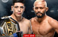 Brandon Moreno vs. Deiveson Figueiredo trilogy booked for UFC 269