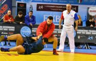 SAMBO World cup for mixed teams 2019 (Slow motion video)